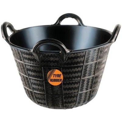 Tubtrugs NEW 37L Four Handle Feeder Tyre Rubber Durable Horse Pet Pony