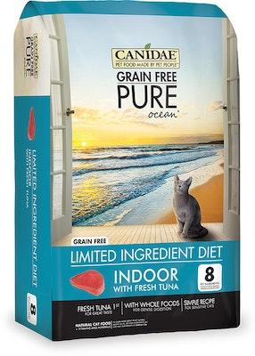 Canidae Grain Free Pure Ocean Indoor Dry Cat Food Tuna - 3 Sizes