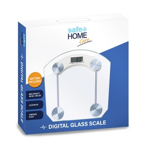 Safe Home Care Digital Glass Scale