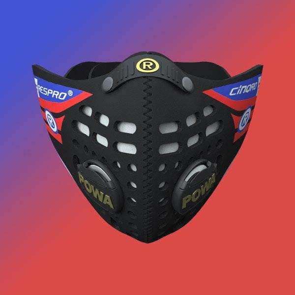 Respro Cinqro Mask Black