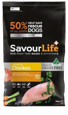 Savourlife Grain Free Adult Chicken 10kg