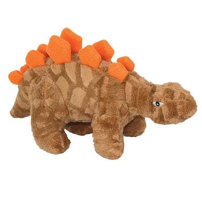 Tuffy Toys Tuffy Mighty Toy Dinosaur Jr Stegosaurus Dog Squeaker Toy