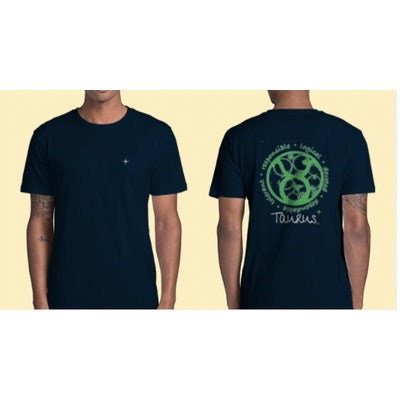 Interstellar Beverages Horoscope [MALE] T-Shirt Taurus