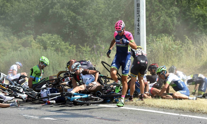 Crash on stage 3