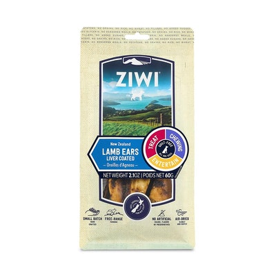ZiwiPeak ZIWI Peak Liver Coated Lamb Ears Oral Chew 60G