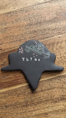 Scenic Rim Pottery Herb Garden Signs Plaques - Customisable Made to Order