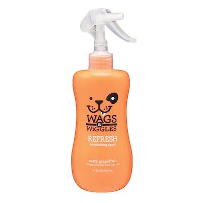 Wags & Wiggles Refresh Deodorizing Dog Spray Grapefruit 355ml