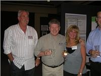 From  left Alan Ricketts,  Robert Ensink and Penny Ricketts at TTP Conference