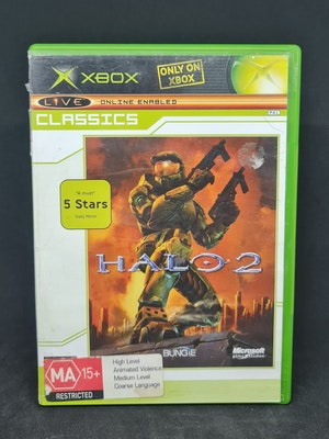 Halo 2 Classics Case Xbox Original