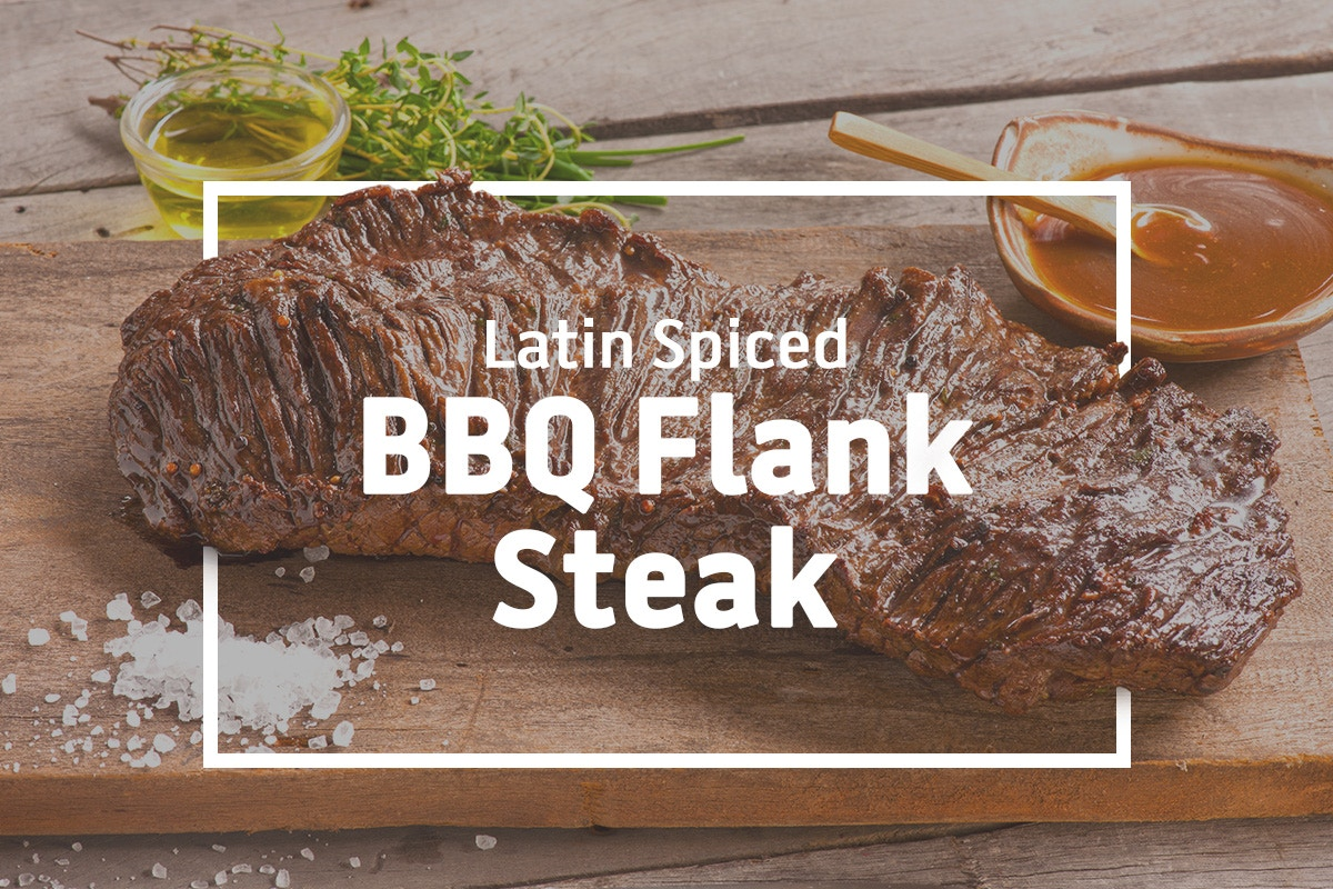 BBQ RECIPE: Latin Spiced BBQ Flank Steak