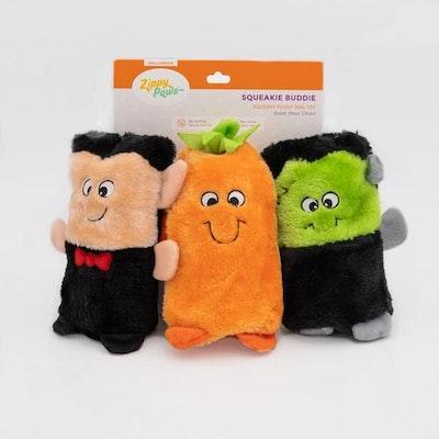 Zippy Paws Squeakie Buddies Halloween 2