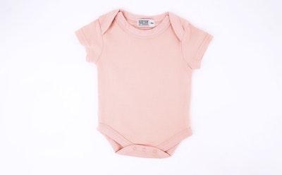 Blush Pink Onesie - Short Sleeve
