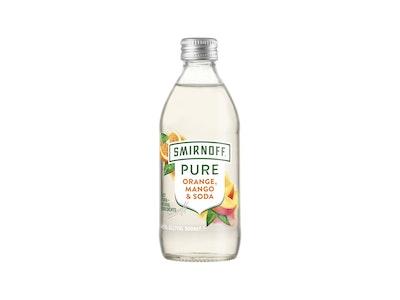 Smirnoff Pure Orange Mango Soda 4.5% Bottle 300mL