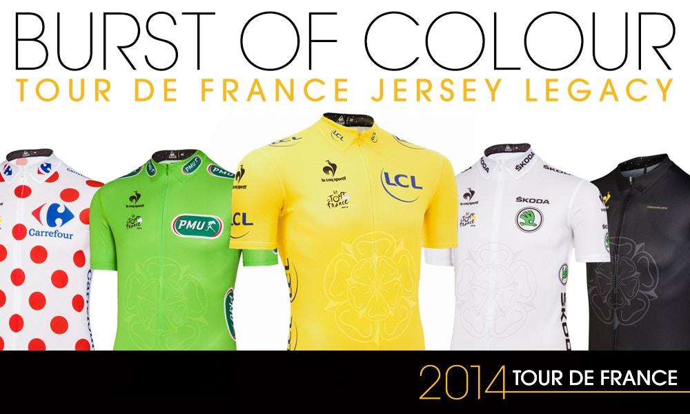 Colour Counts – the History Behind the Tour de France Jerseys