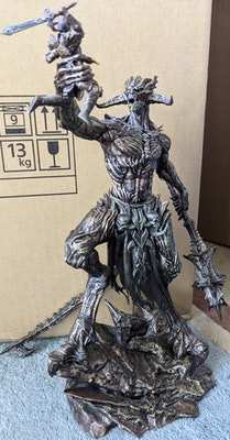 Elder Scrolls Online: Tamriel Unlimited - Molag Bal Statue and Lore Book