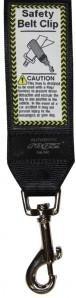 Rogz Utility Safety Belt Clip Black