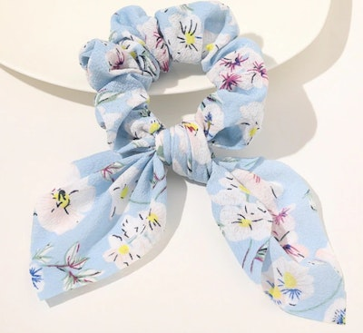 The Little Bee Gift Store SCRUNCHIE BOW KNOT HAIR TIES - 'Bella' 2021