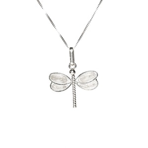 Dragonfly Filigree Pendant -Silver-