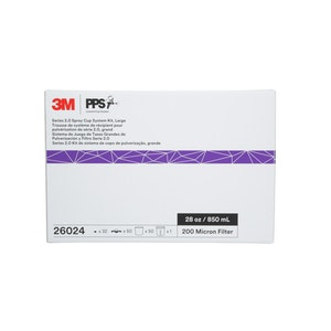 3M PPS 2.0 Spray Cup System 850ml 200 micron (50) 26024