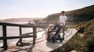The Limited Anniversary Edition: Redsbaby  JIVE²  Scenic Pram
