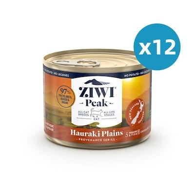 ZiwiPeak ZIWI Peak Provenance Canned Cat Food Hauraki Plains 170G X 12