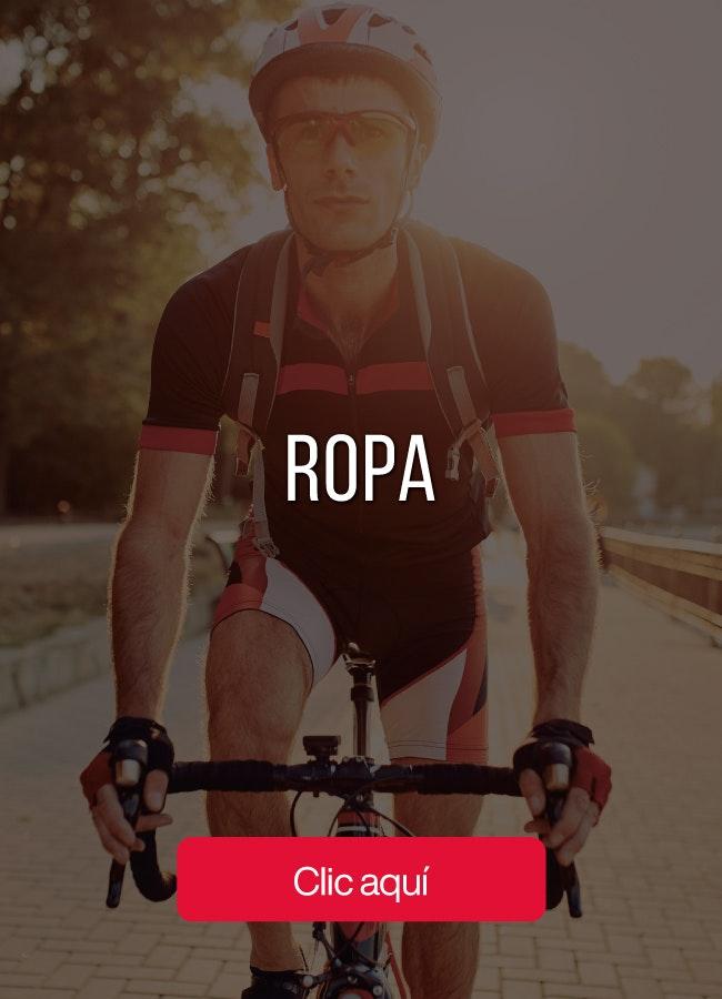 Explora nuestra oferta de ropa para ciclismo