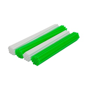 Spoke Wraps - Green and White
