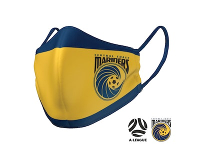 The Mask Life Central Coast Mariners Face Mask