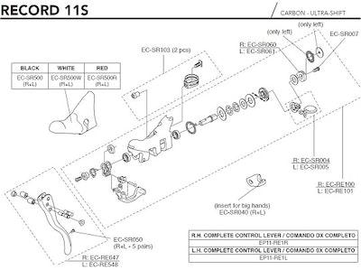 Campagnolo Hub Kit HB-RE100