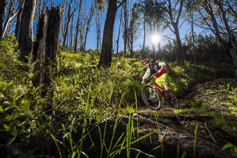 Riding the Mt Buller Epic trail