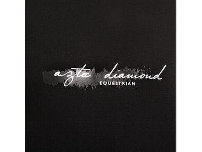 Aztec Diamond Equestrian Aztec Diamond Scribble Print T-Shirt