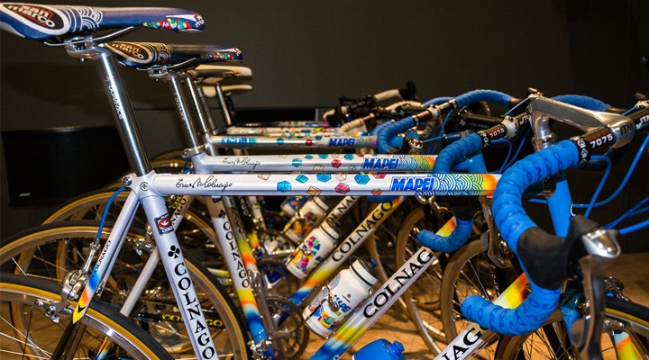 Rare Collection Colnago Mapei Bikes