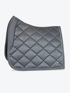 PS OF Sweden Grey Floret Saddle Pad