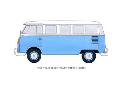 The VW 70's Split Window Kombi