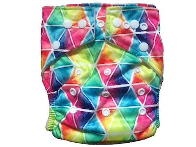 Hippybottomus Stay Dry Bamboo Cloth Nappy - Triangles