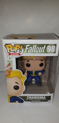 Charisma pop vinyl from fallout