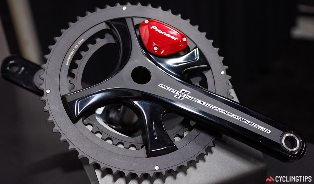 pioneer campagnolo potenza power meter InterBike 2016 CyclingTips 43089