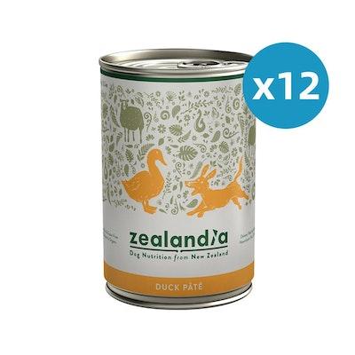 ZEALANDIA Duck Pate Dog Wet Food 385g x 12