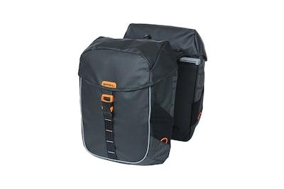 Basil Miles Tarpaulin  Double Bag MIK Black Orange 34L