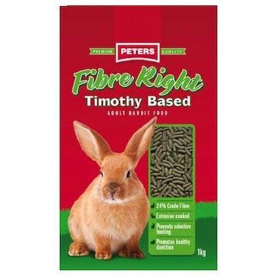 Peters Fibre Right Rabbit Food