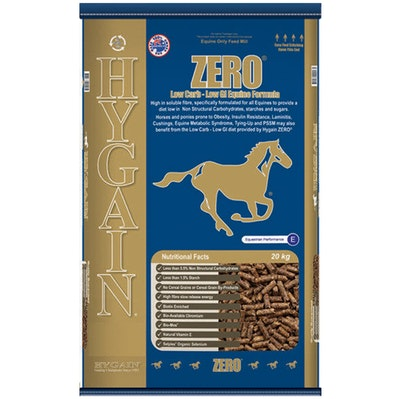 Hygain Zero Horses High Soluble Fibre Complete Feed 20kg