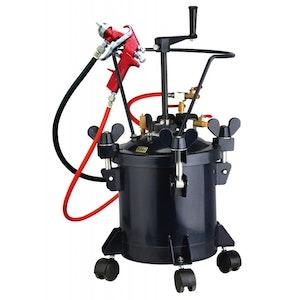 Spray Gun 10Lt Spray Pot with Pressure Gauge & Adjusting Valve