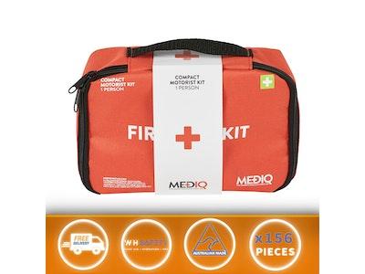 Mediq Essential First-Aid Kit - Compact Motorist (Soft Pack)
