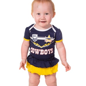 Ashtabula NRL Cowboys Girls Footysuit