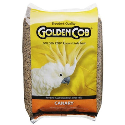 Golden Cob Canary Nutritious Seed Mix Food - 2 Sizes