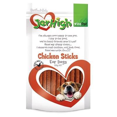 Vitapet Jerhigh Chicken Sticks Dog Treats
