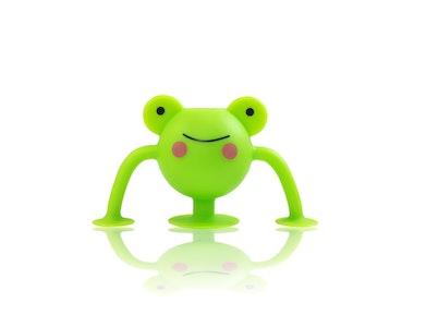 Silicone Suction Toddler Bath Toys 1pk - Finny Frog - Zoo Collection