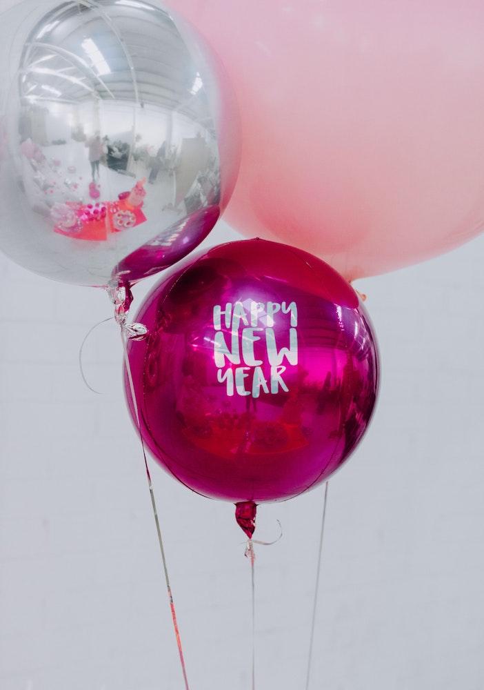 Ruby Rabbit Foil Balloons