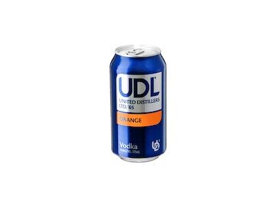 UDL Vodka & Orange Can 375mL