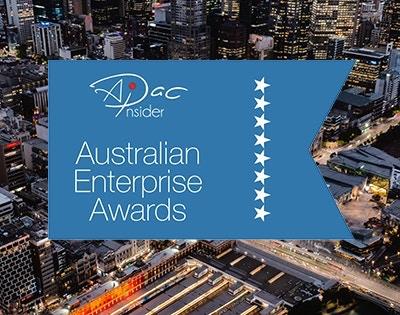 Winner in the Australian Enterprise Awards 2020